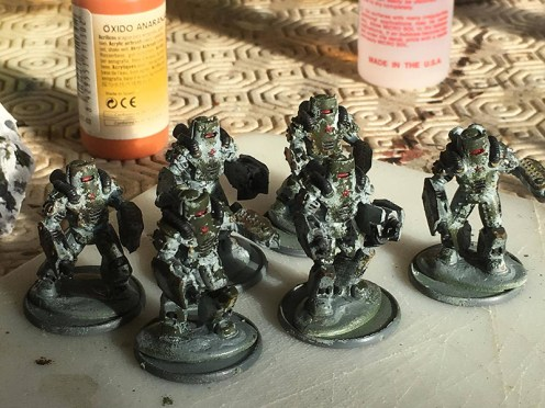 Soviet Heavy Infantry - Chipping Finished