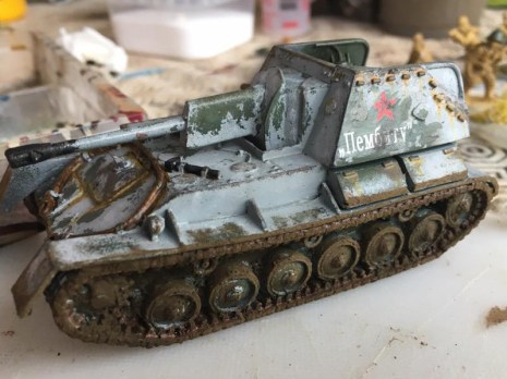 The left hand side, the side containers were heavily weathered