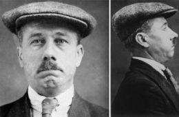 B. Traven Aka Red Marut Politifotos fra London 1923