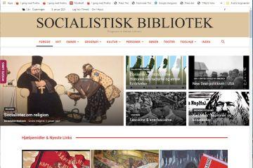 Socialistisk Biblioteks website