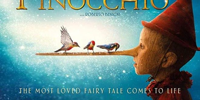 La nueva adaptación de Pinocho llega a la pantalla grande.