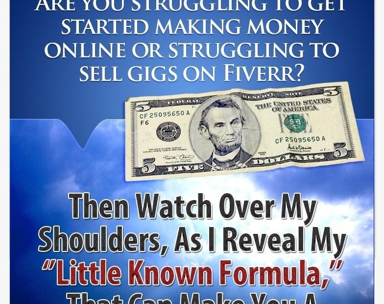 Secret Method On How I make more than $450 Monthly On Fiverr