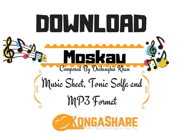 Download Moskau Music Sheet by Dschinghis Khan in PDF
