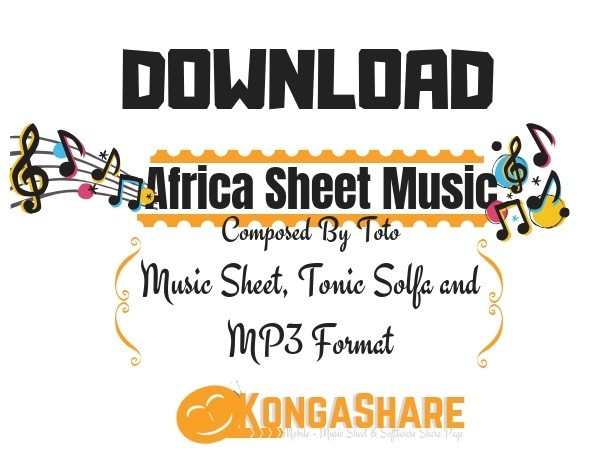 Download Free Toto - Africa Sheet Music for Piano in pdf