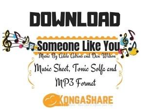 Download Someone Like You Sheet Music In PDF