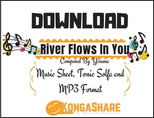 yiruma river flows in you piano sheet music midi pdf_kongashare.com_mn