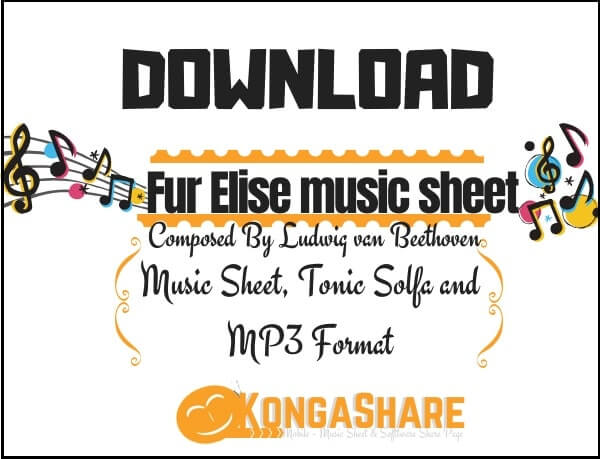 Download Fur Elise music sheet by Ludwig van Beethoven_kongashare.com_m-min (1)