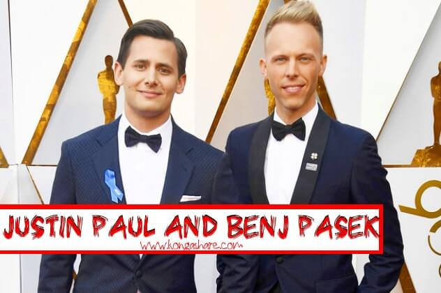 Justin Paul and Benj Pasek Biography - A million dreams sheet music composer_kongashare.com_min.jpg