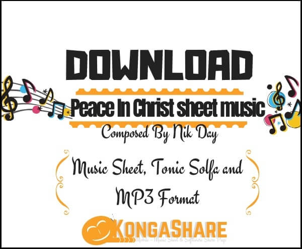 Peace In Christ sheet music - Mutual Theme Song by Nik Day_kongashare.com_mmm