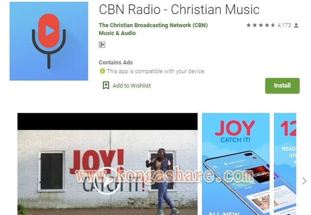 Free Christian Music Apps on Google Play in 2020 - CBN Radio app Picture_kongashare.com_mmm