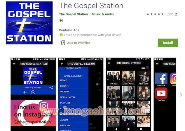 Free Christian Music Apps on Google Play in 2020 - the gospel station App Picture_kongashare.com_mmm