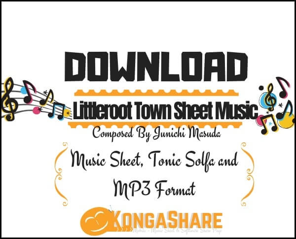 Littleroot Town - Pokémon sheet music_kongashare.com_score