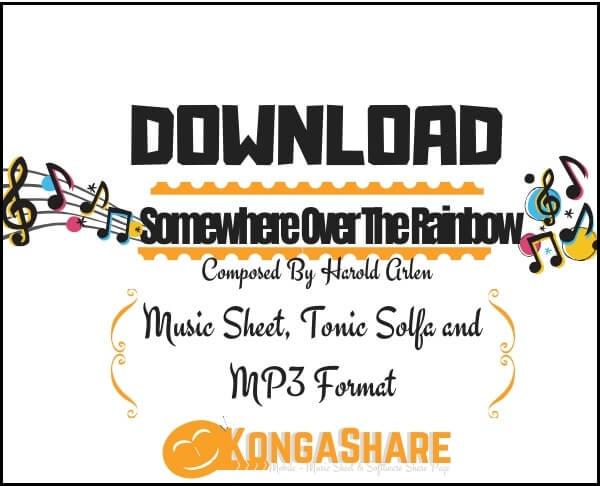 Somewhere Over The Rainbow sheet music _kongashare.com_score