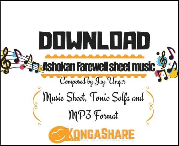 Ashokan Farewell sheet music by Jay Ungar_kongashare