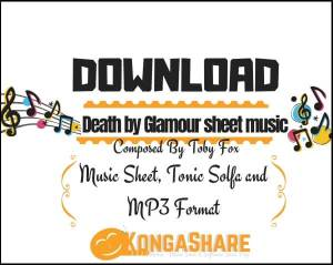 Death by Glamour sheet music_kongashare