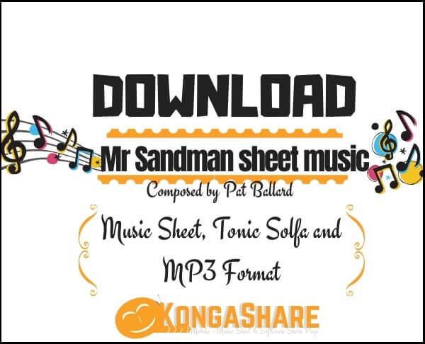 mr sandman sheet music_kongashare.com_mn