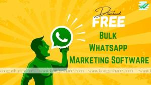 Bulk Whatsapp Marketing Software for free