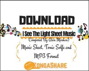 I See The Light Sheet Music_kongashare.com_mv