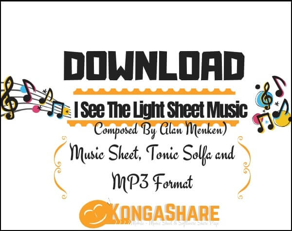 I See The Light Sheet Music_kongashare.com_mv
