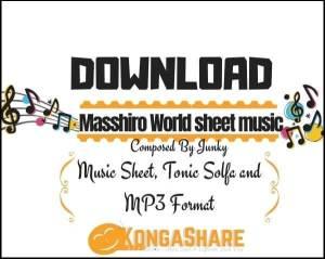 Masshiro World sheet music_kongashare.com_mb