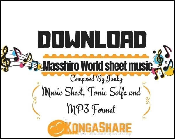 Masshiro World sheet music_kongashare.com_mb