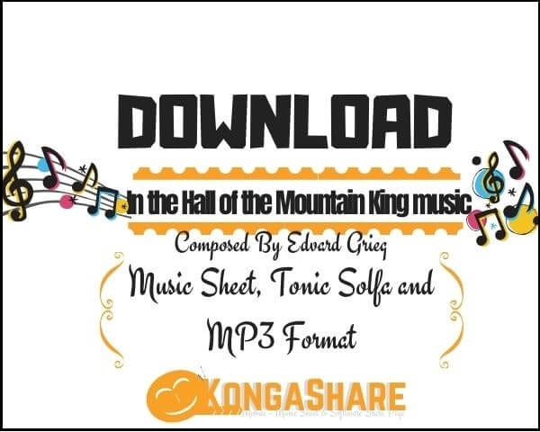 In the Hall of the Mountain King sheet music_kongashare.com_mx
