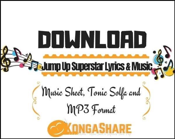 Jump Up Superstar lyrics and sheet music_kongashare.com_vb