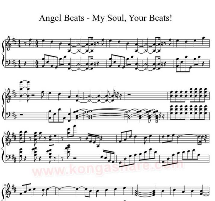 my soul your beats piano sheet_kongashare.com_nb-min