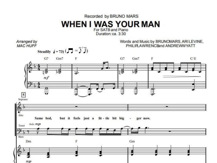 when i was your man piano sheet music_kongashare.com_mn