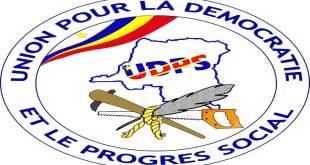 Logo de l'Union pour la démocratie et le progrès social (UDPS). Un parti politique en RDC. Il a été fondé le 15 février 1982 par Étienne TSHISEKEDI, Marcel LIHAU et d'autres. Il est membre de l'Alliance progressiste et membre observateur de l'Internationale socialiste.