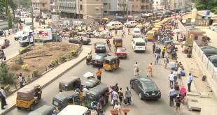 Chaos après l'interdiction de tuk-tuk a Lagos.