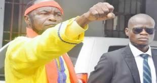 Ne Muanda Nsemi, leader spirituel de DBM et politicien de la RDC.