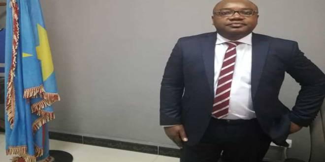 Patrick Umba, administrateur de la la Société Congolaise des Postes et Télécommunications (SCPT).