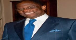 Alexis THAMBWE-MWAMBA, president du Senat de la RDC.