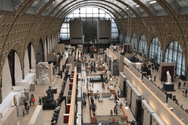 Orsay Museum main hall view