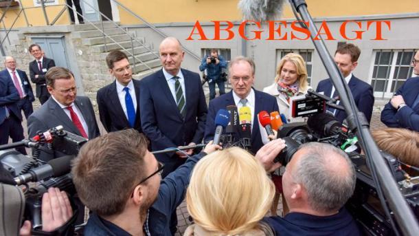 Berlin-Regionalkonferenz ostdeutscher Ministerpräsidenten fällt aus