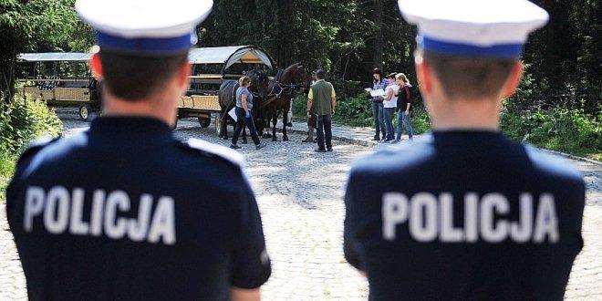 Badania koni pod nadzorem policji