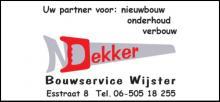 Bouwservice Wijster