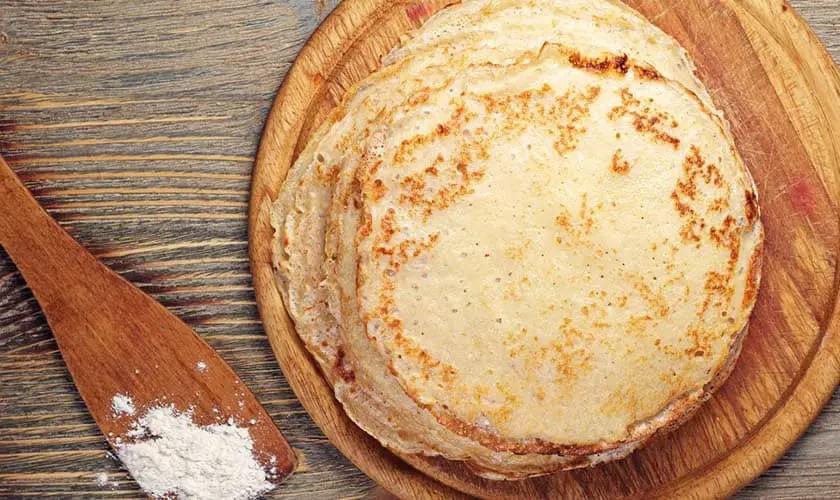 Pfannkuchen aus Konjakmehl