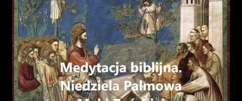 Niedziela Palmowa – Lectio Divina