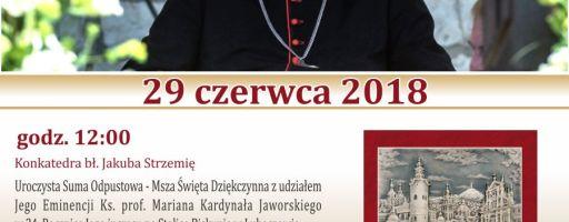 Kardynał Marian Jaworski w Lubaczowie