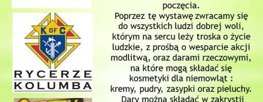 """Wystawa w konkatedrze  """"JAŚ W DRODZE"""""""