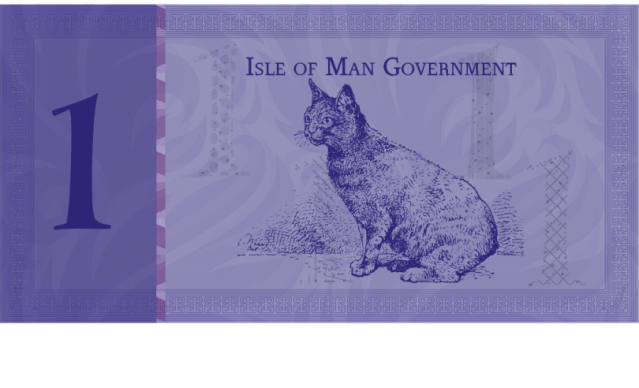 Proposed one Manx Pound note