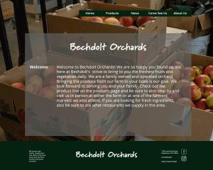 Bechdolt Orchards Web Concept
