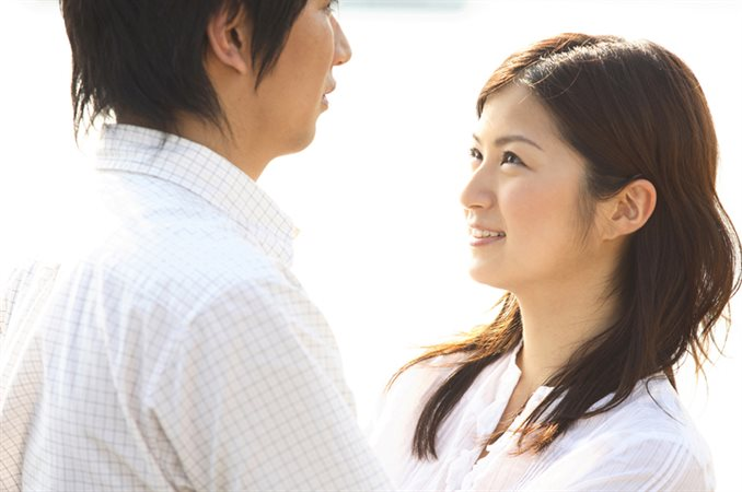 婚活サイトのプロフィール写真