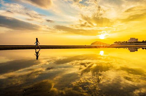 日本 ウニ湖