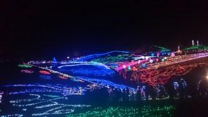 香川まんのう公園のイルミネーション!周辺の観光やうどん屋も楽しむ!