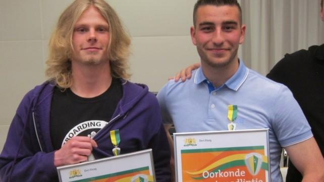Thomas en Mustafa trots. ReVa trots!