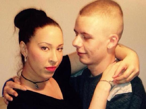 Jazmine Howarth and her fiance Brendan Cawley1