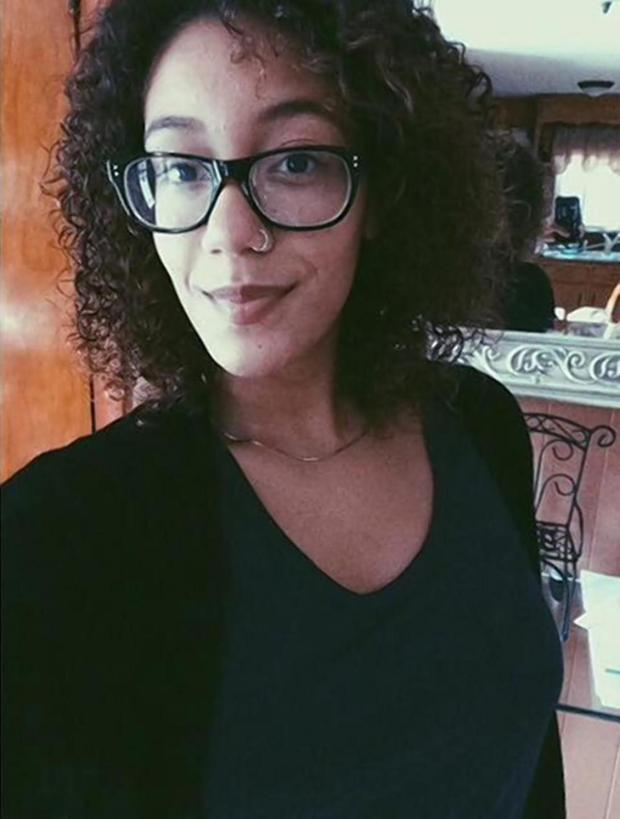 Karé Ureña, the Pitzer College student who wrote the controversial Facebook post